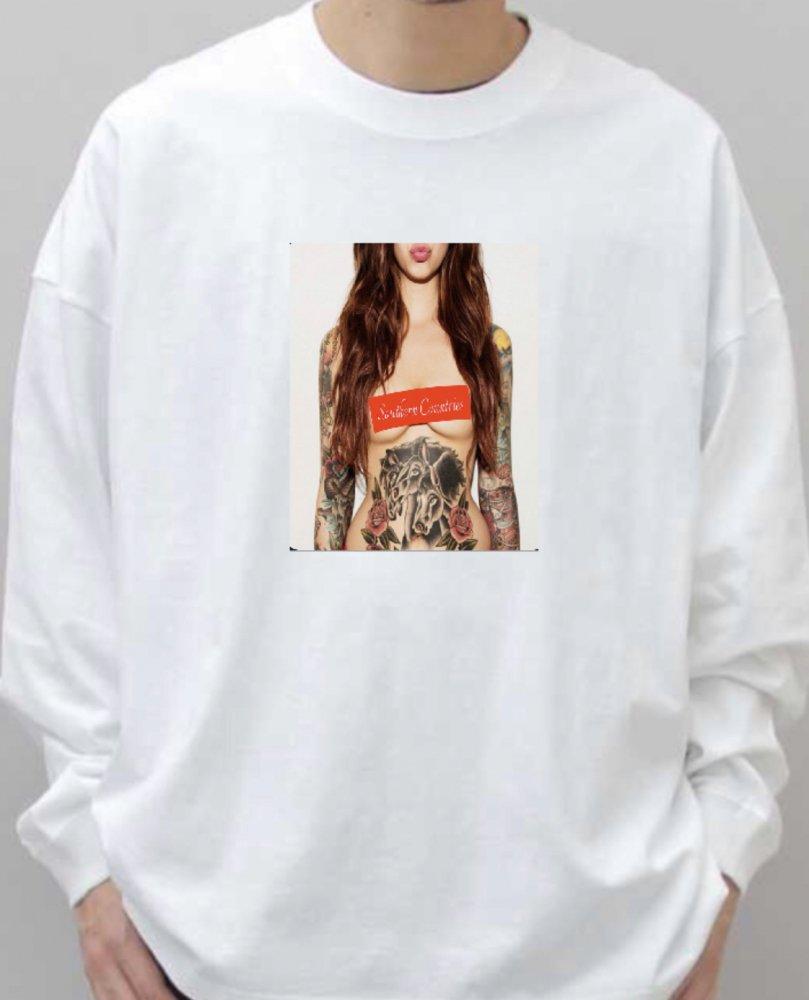 T-shirt long 109