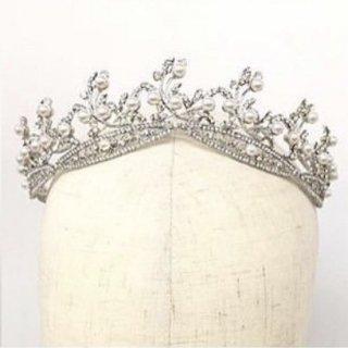 Ariel Head dress Pearl + Earring set | アリエル ヘッドドレス + イヤリングセット