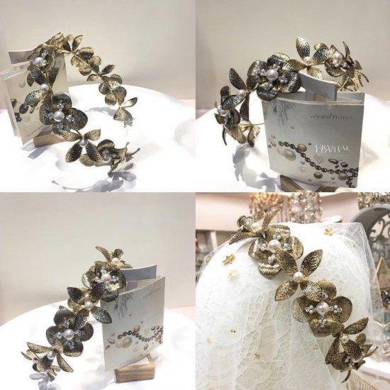 花冠 フローラヘッドドレス + イヤリングセット