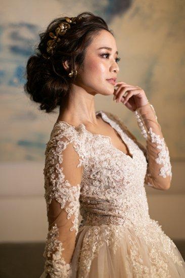 花冠 フローラヘッドドレス + イヤリングセット 1