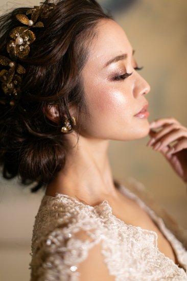 花冠 フローラヘッドドレス + イヤリングセット 10