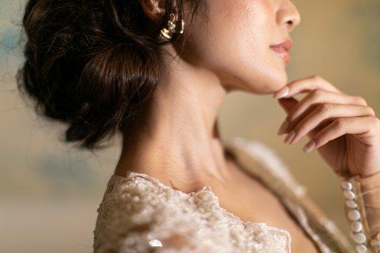 花冠 フローラヘッドドレス + イヤリングセット 11
