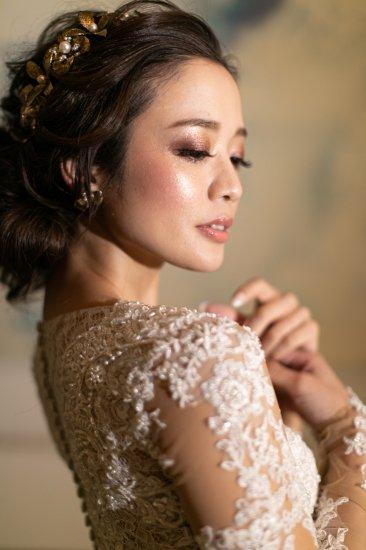 花冠 フローラヘッドドレス + イヤリングセット 12