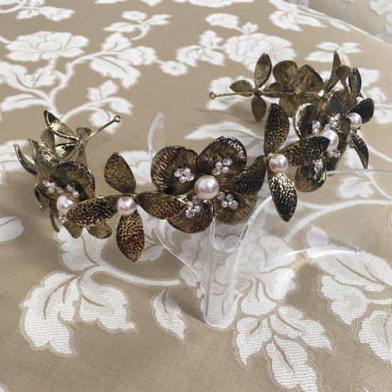 花冠 フローラヘッドドレス + イヤリングセット 3