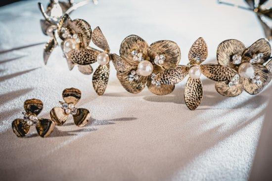 花冠 フローラヘッドドレス + イヤリングセット 7