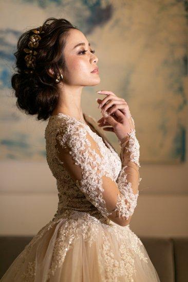 花冠 フローラヘッドドレス + イヤリングセット 9