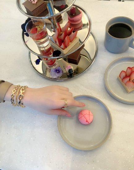 ダンクルチェーン バングルブレスレット -GOLD-<Lsize/Ssize>|Dancle Chain Bancle Bracelet | 男女兼用フリーサイズ 8