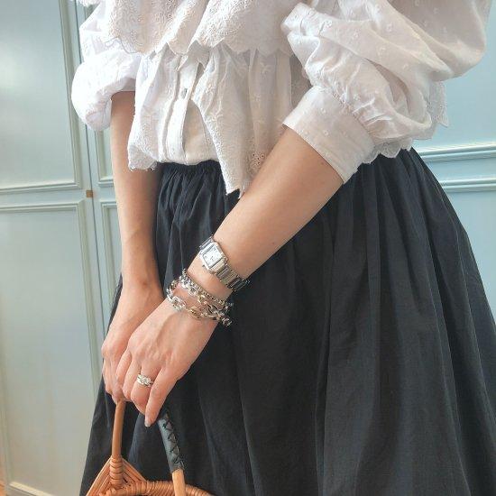 ダンクルチェーン バングルブレスレット -GOLD-<Lsize/Ssize>|Dancle Chain Bancle Bracelet | 男女兼用フリーサイズ 9