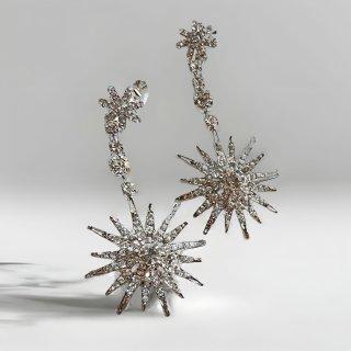 エスター コンステレーション クリスタルシルバー | Esther Constellation Earrings Crystal Silver