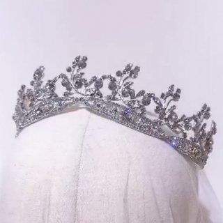 Ariel Head dress ALL Crystal + Earring set | アリエル ヘッドドレス + イヤリングセット