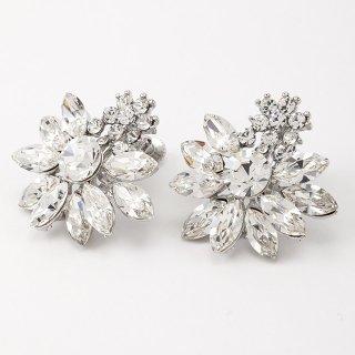 —Pierces&Earrings 【限定1点】オリヴィア クリスタルイヤリング