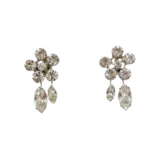 —Pierces&Earrings 【限定1点】ミニフラワー クリスタルイヤリング