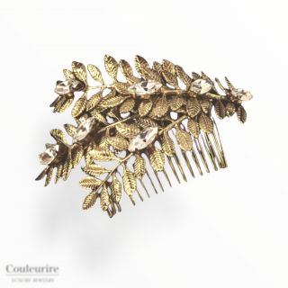 ゴールド ローレル  ヘッドドレス