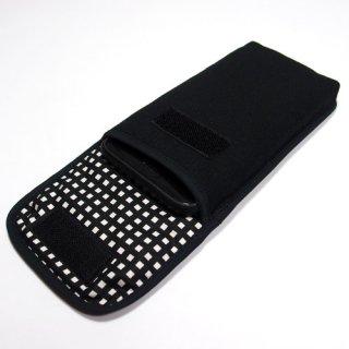 iPhone 8 Plusケース /iPhone7 Plusケース(ブラック・グラフチェック)