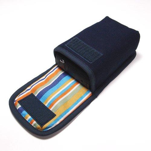 カメラケース デジカメ PowerShot G9 X Mark II /G9 Xケース(ネイビー)