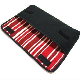 Apple Magicキーボードケース(ブラック・ボルドーストライプ)