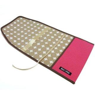 ブックカバー(単行本サイズ)ピンク+ベージュ