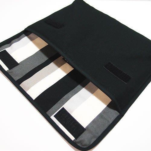 iPad Airケース「FILO」(ブラック・グレーストライプ)for 第3世代  2019年モデル