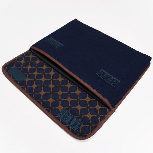 iPad Airケース「FILO」(ネイビー・キャロル)for 第3世代 2019年モデル