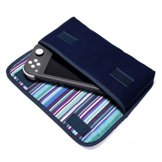 Nintendo Switch Liteケース(ネイビー・アズーリ)