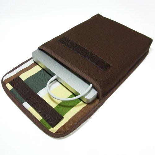 Apple USB スーパードライブケース(ココア・カーキストライプ)