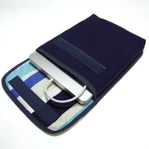 Apple USB スーパードライブケース(ネイビー・ストライプ)
