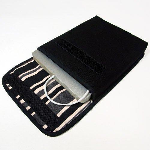 Apple USB スーパードライブケース(ブラック・カーボンストライプ)