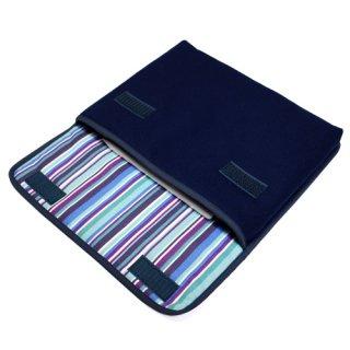 11インチ iPad Proケース・第4世代 iPad Airケース・Lサイズ「FILO」(ネイビー・アズーリ)