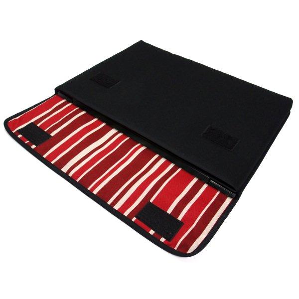Lenovo IdeaPad L340 Gaming ケース 15インチ FILO(ブラック・ボルドーストライプ)