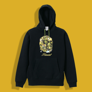 天龍×HAOMING ICON MASK Hoodie