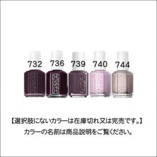 ●essie エッシー 732-744番