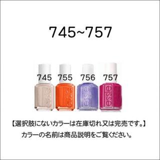 ●essie エッシー 745-757番