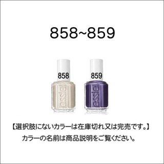 ●essie エッシー 858-859番