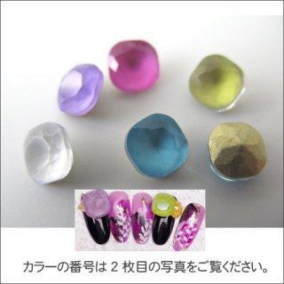 ネイルパーツ ビジューモカスクエア6mm<br />◆<font color=blue>期間限定!20%off!</font>