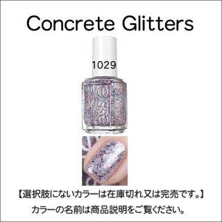 ●essie エッシー Concrete Glitters