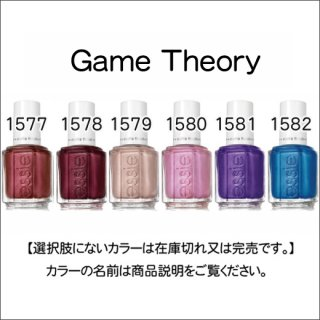 ●essie エッシー  Game Theory
