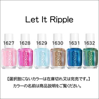 ●essie エッシー  Let It Ripple コレクション