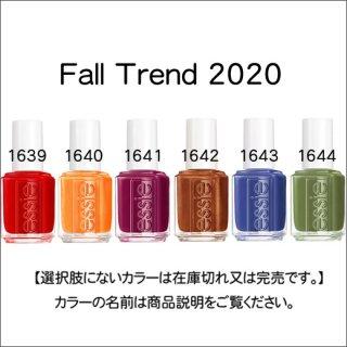 ●essie エッシー  Fall Trend 2020 コレクション