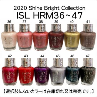 ●OPI オーピーアイ ISL HRM36~47 ーShine Brightコレクション