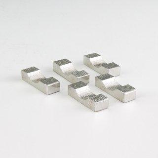 錫 箸置き 白色加工 商品番号:170-6/名入れ・マーク入れ 不可