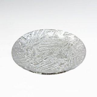 錫 銘々皿 丸形松葉 商品番号:1060-5/名入れ・マーク入れ 不可