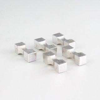錫 箸置き 白色加工 商品番号:170-7/名入れ・マーク入れ 不可