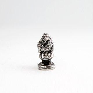 錫 置物 恵比寿様 イブシ加工 商品番号:193-1/名入れ・マーク入れ 不可