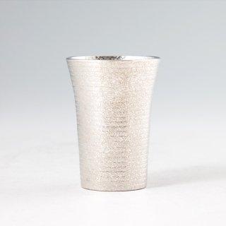 錫 タンブラーショットゼロ 吹雪加工 120ml 商品番号:79A-1-2/名入れ・マーク入れ 不可