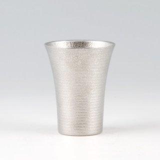 錫 タンブラー ロングゼロ 吹雪加工 260ml 商品番号:86A-1-2/名入れ・マーク入れ 不可