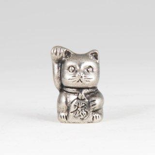 錫 置物 招き猫 イブシ加工 商品番号:181A-2/名入れ・マーク入れ 不可