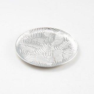 錫 銘々皿 商品番号:1300-2/名入れ・マーク入れ 不可