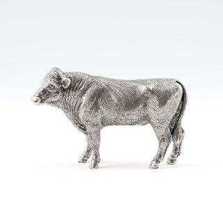 錫 置物 干支 丑(牛) 商品番号:186D-2/名入れ・マーク入れ 不可