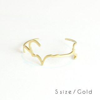 hiragana BANGLE  うつくしい - Gold / 2size