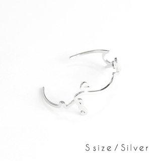 hiragana BANGLE  ふじさん - Silver / 2size